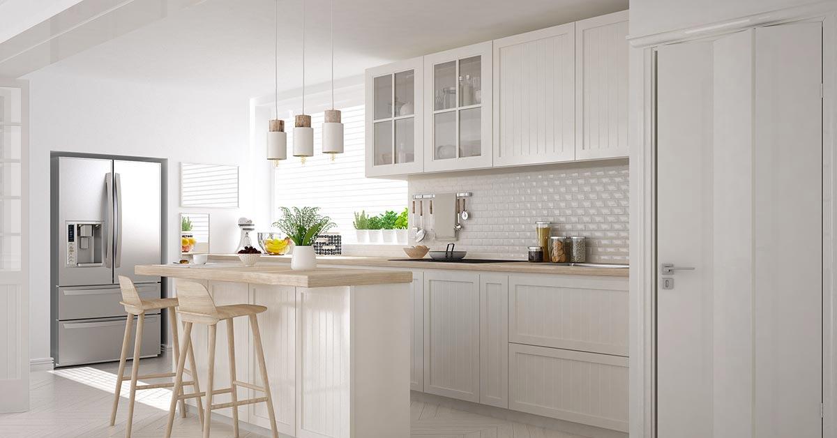Ispirazioni cucine con isola o penisola moderna.