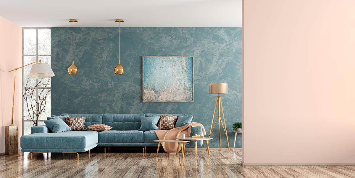 Colori pareti soggiorni moderni.
