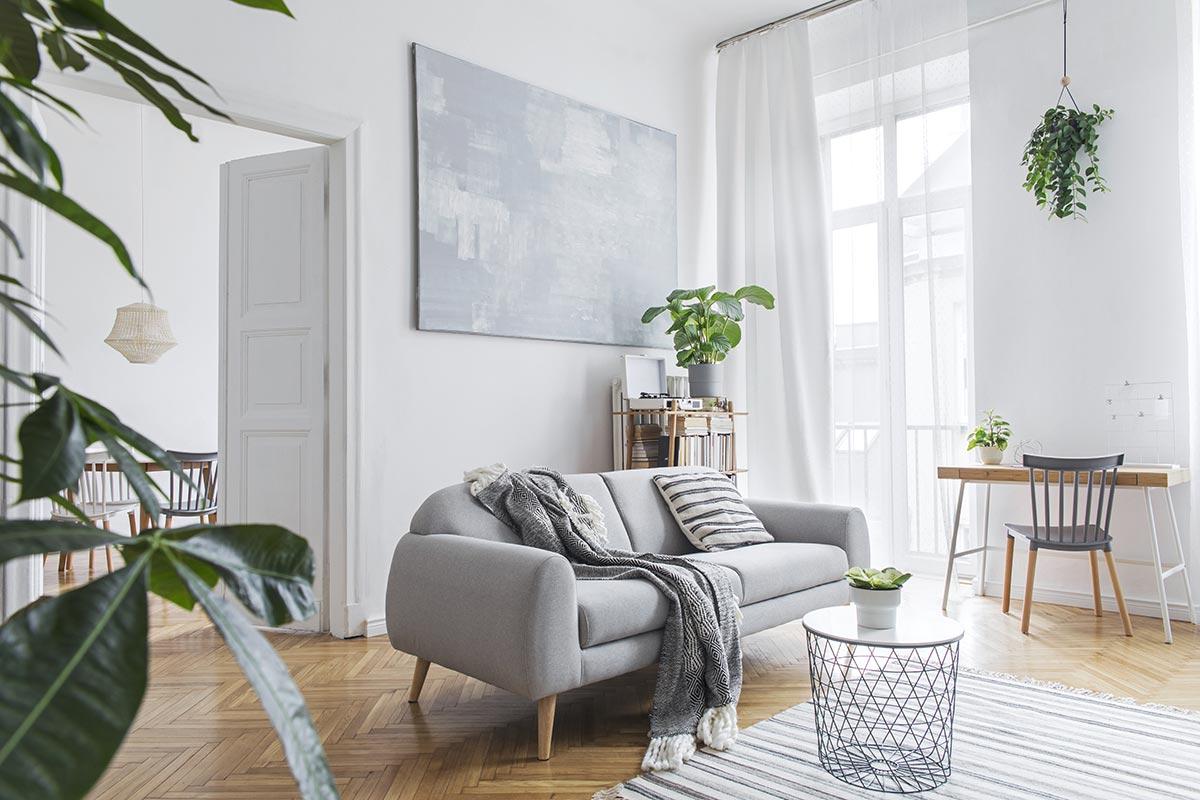 Come arredare un soggiorno moderno.