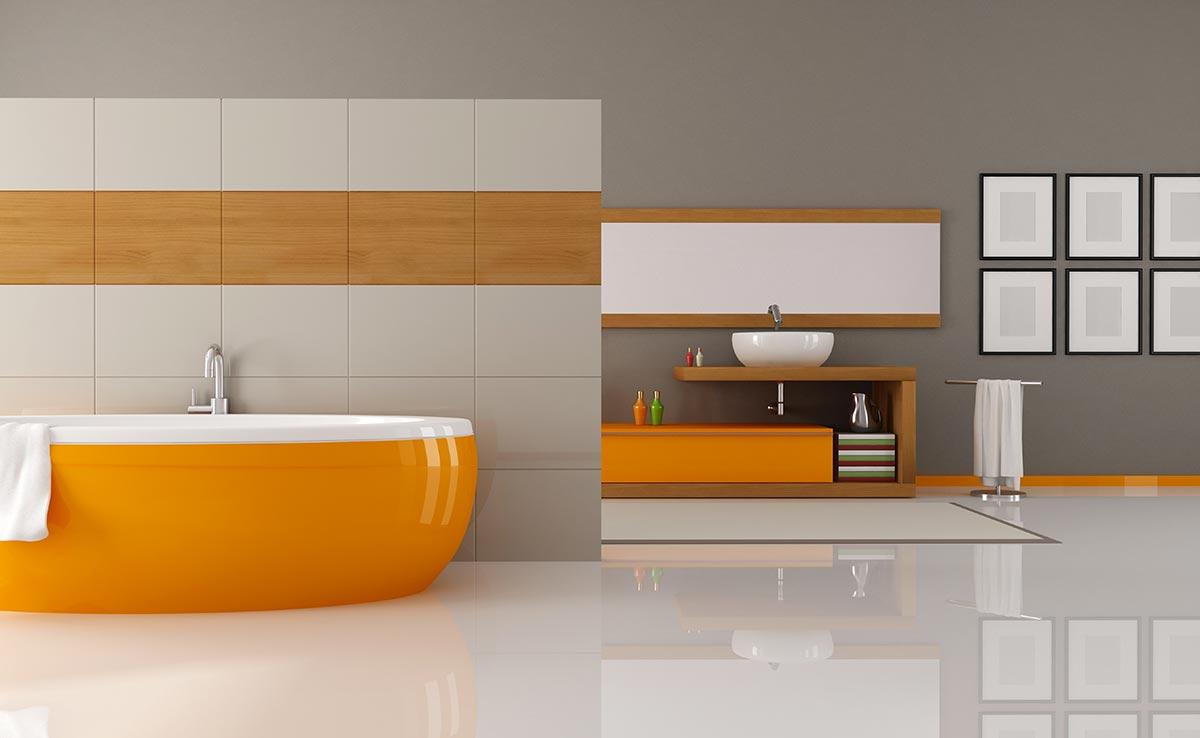 Ispirazioni rivestimenti bagni moderni.