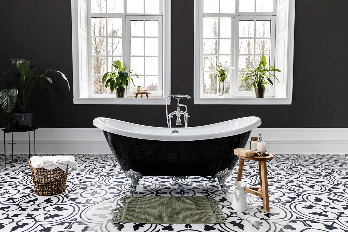 Bagno Moderno Bianco E Nero.Bagno Nero 40 Idee Per Un Bagno Di Classe Ispiratevi