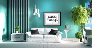 idee abbinamenti colori pareti salotto