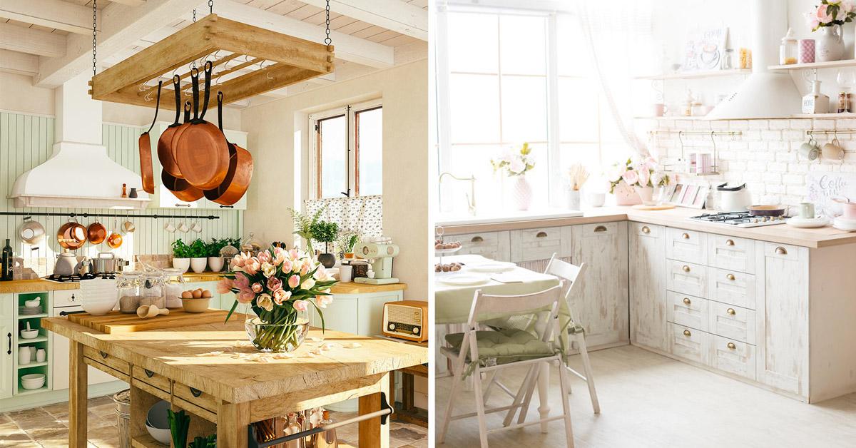 cucine in legno classiche, moderne, country e shabby