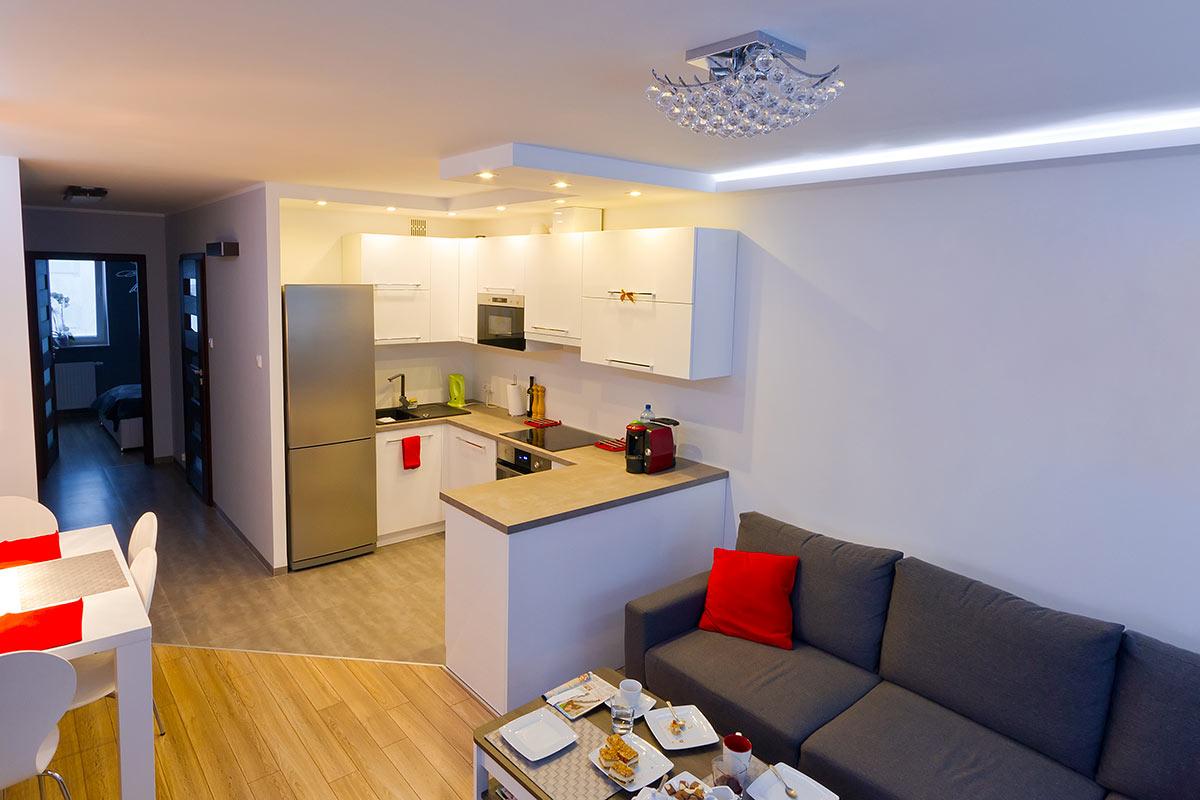 Cucine open space piccole