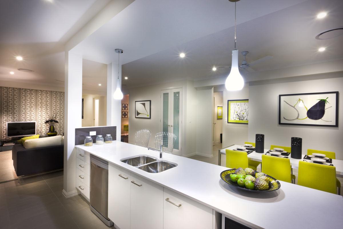 Cucina open space moderna