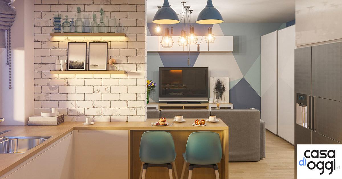 La cucina open space: 20 idee per un ambiente moderno e ...