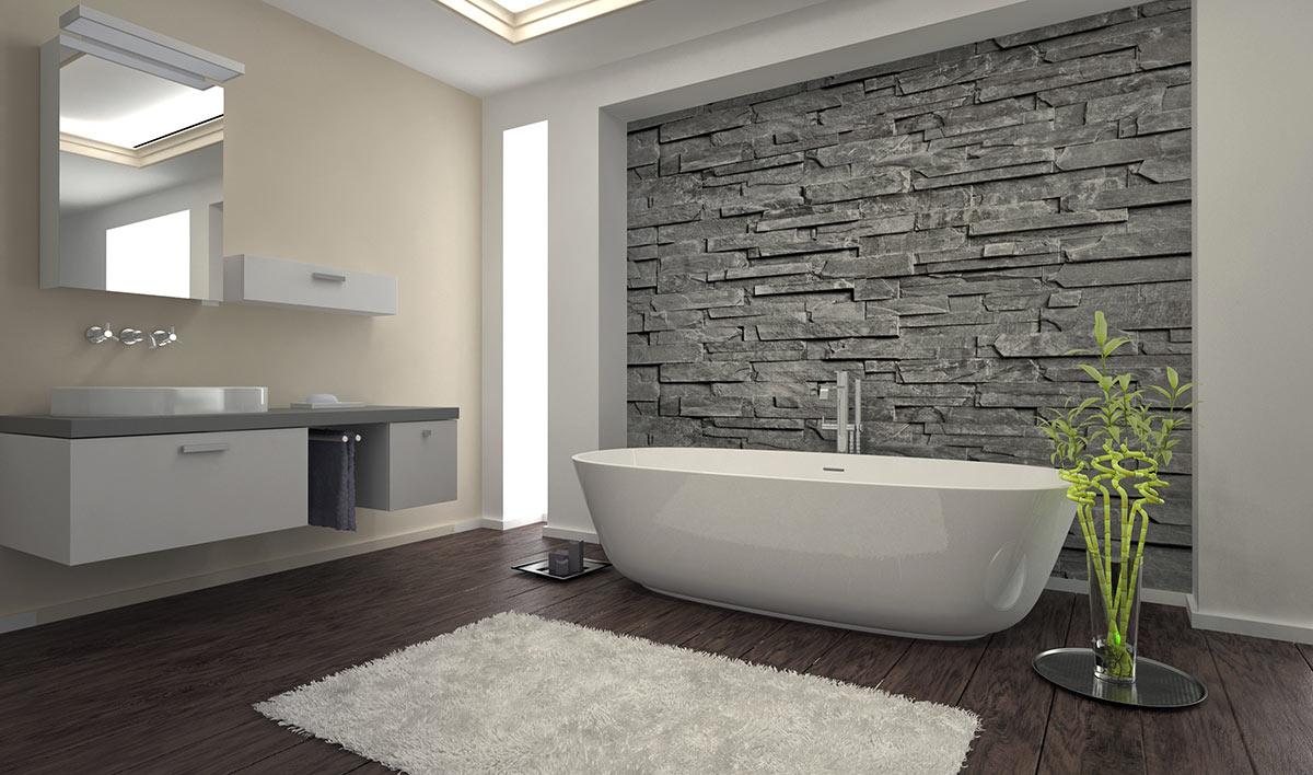 Pietre Bianca Per Interni rivestimenti in pietra: idee design per interni ed esterni
