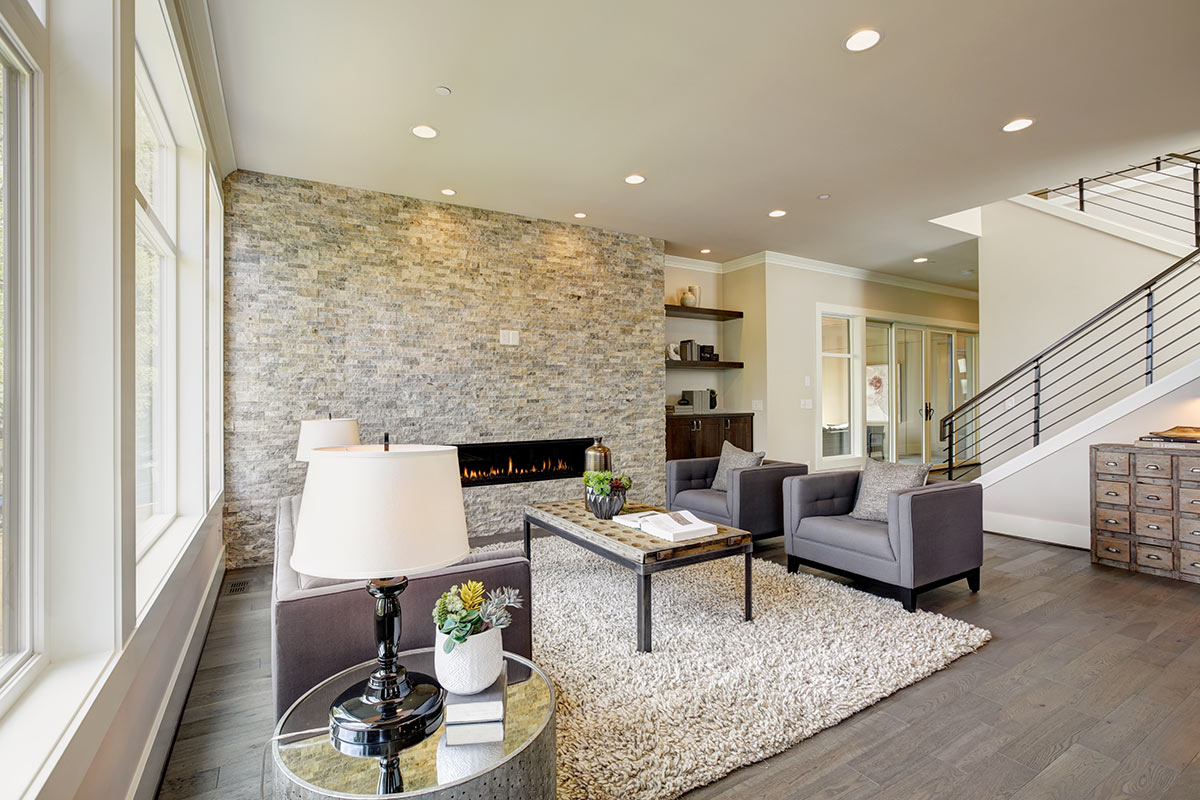 Pareti In Finta Pietra rivestimenti in pietra: idee design per interni ed esterni