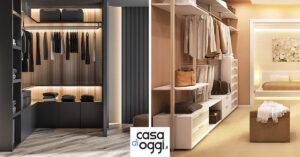 Idee per progettare una cabina armadio, prezzi e tipologie.