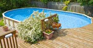 Piscine fuori terra da giardino, prezzi e tipologie.