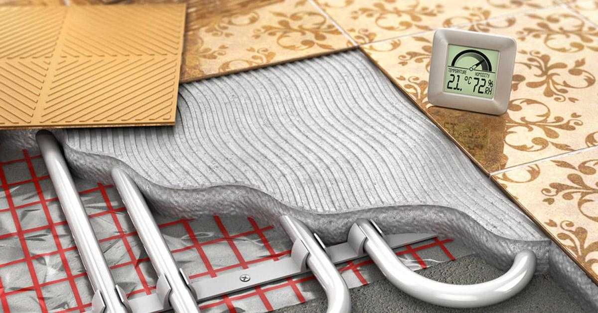 installazione sistema di riscaldamento a pavimento, costi e preventivi