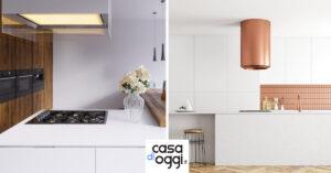 Caratteristiche e ispirazioni per la giusta cappa in cucina