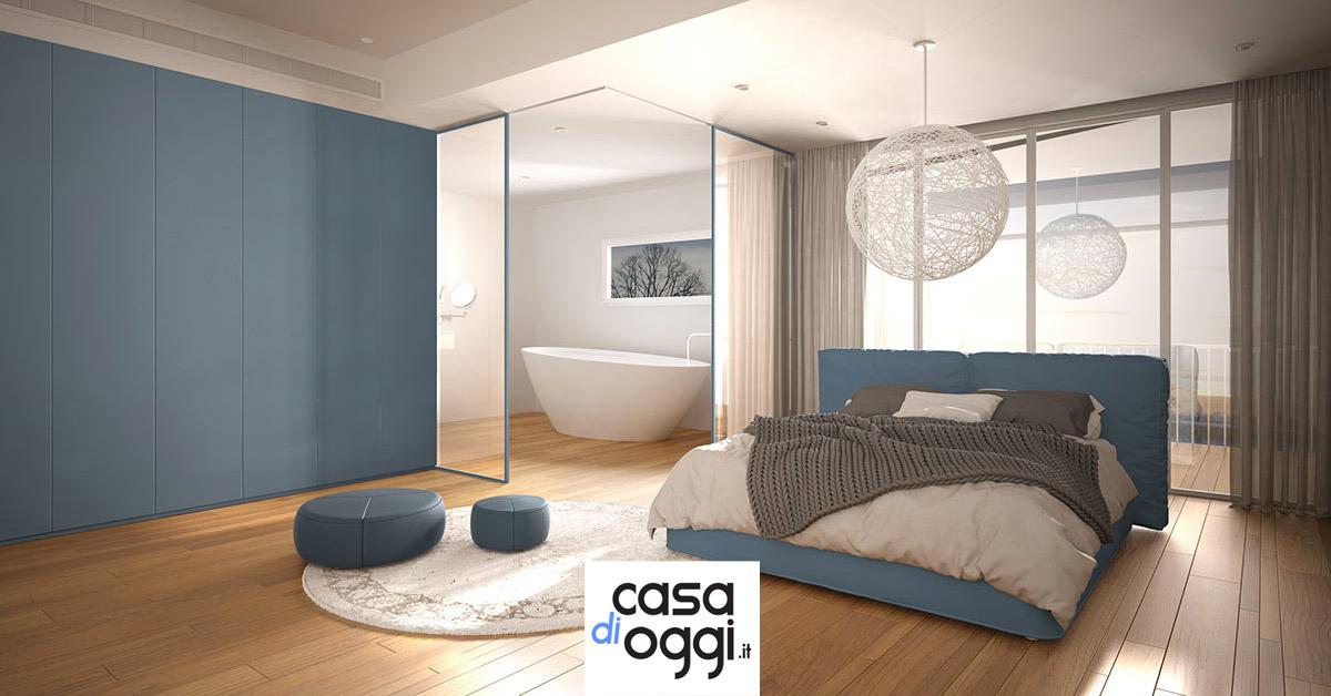 Idee per realizzare bagno in camera da letto.