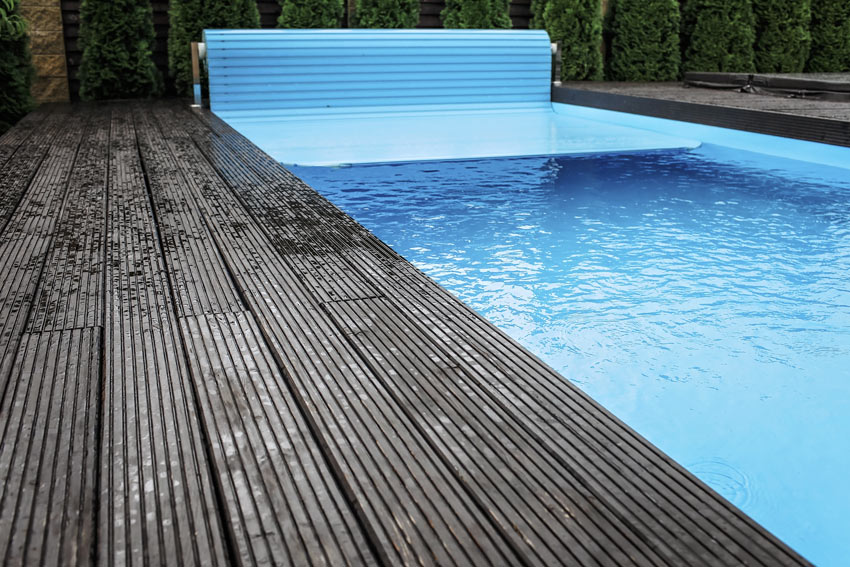 Coperture per piscine.