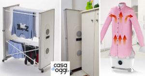 Come asciugare i panni in casa senza creare umidità e disordine