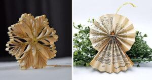 decorazioni fai da te Natale con la carta