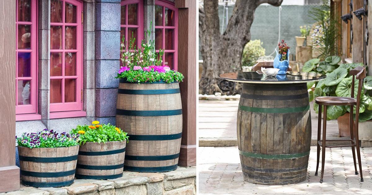 decorare-casa-con-botte-di-vino