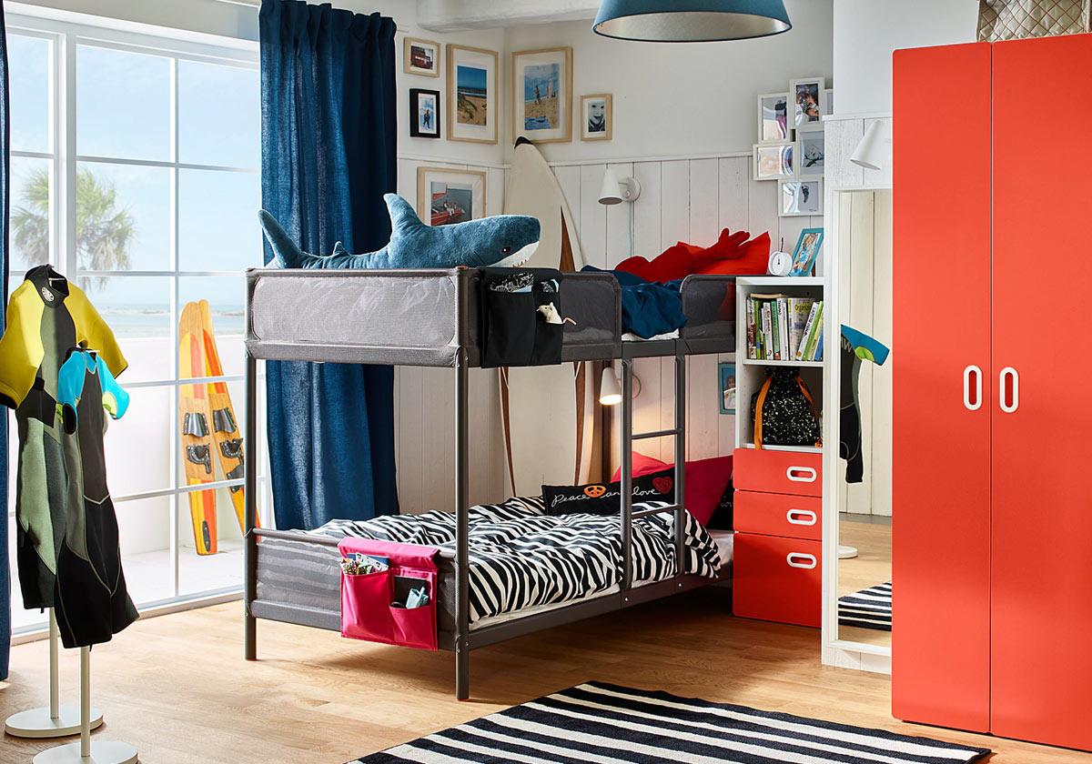Letti a castello IKEA: 7 idee per ottimizzare lo spazio ...