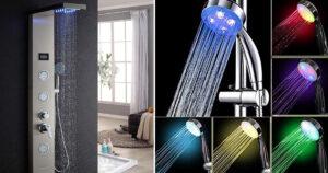 idee per rimodernare la doccia con il soffione