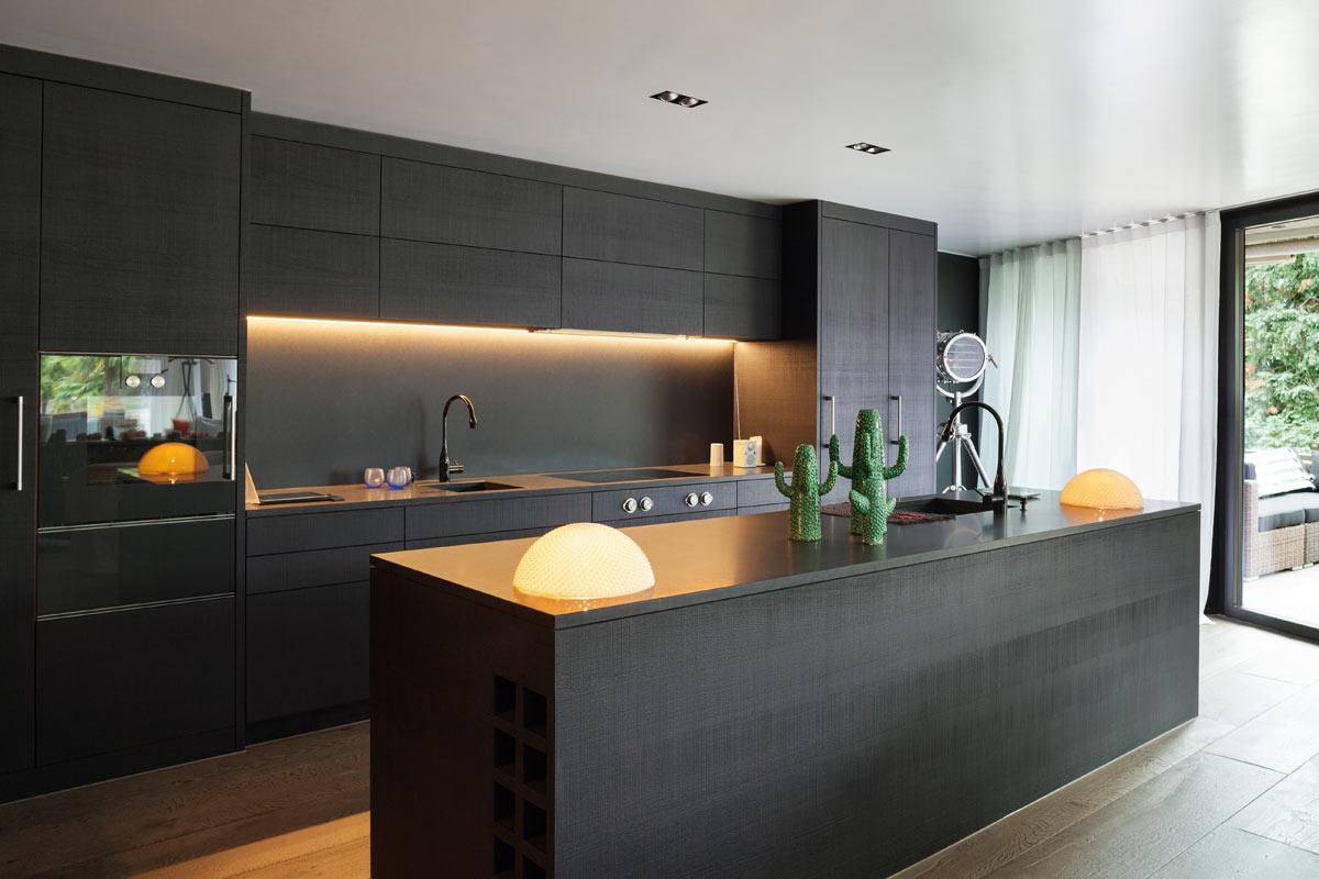 illuminazione-cucina con isola