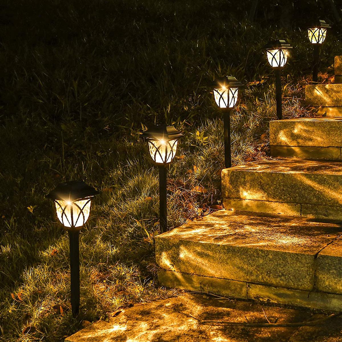 Luci solari a LED da giardino
