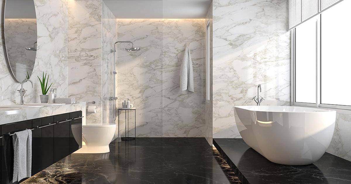 bagno in gres porcellanato