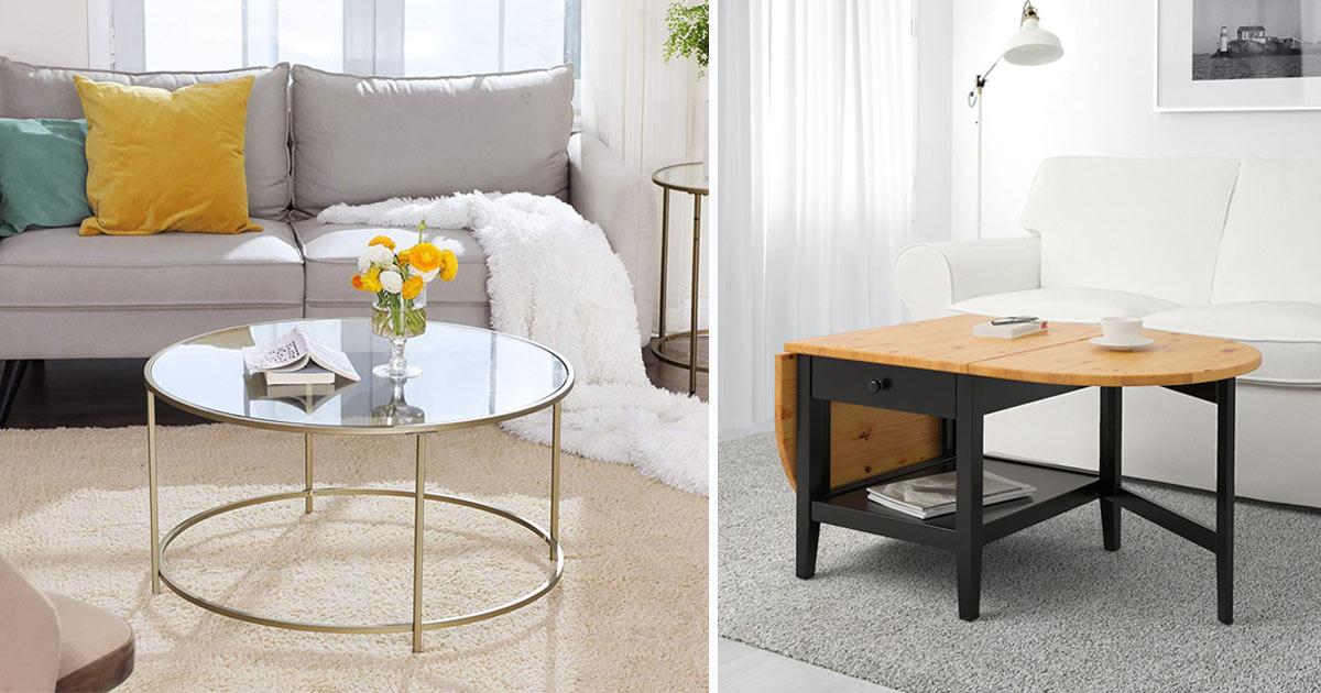 tavolini da salotto in stile moderno