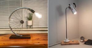 lampade con riciclo creativo