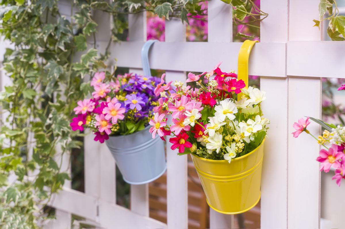 decorare la recinzione con il fai da te