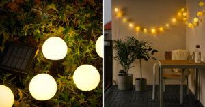 Illuminazione esterna IKEA 2021.